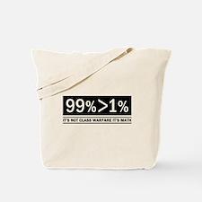 Not Class Warfare Math Tote Bag