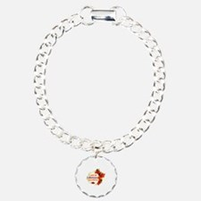 Liberian Girlfriend Valentine design Bracelet
