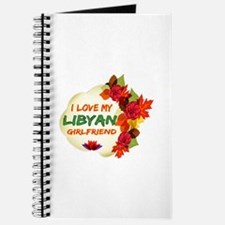 Libyan Girlfriend Valentine design Journal
