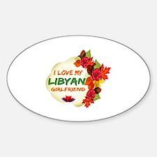 Libyan Girlfriend Valentine design Decal