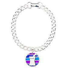 pharmd pattern blue.PNG Bracelet