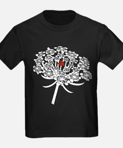 Skull Queen Anne's Lace T