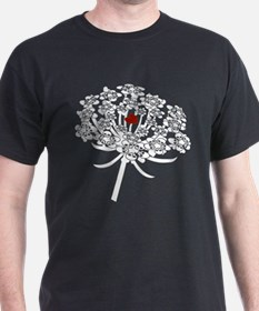 Skull Queen Anne's Lace T-Shirt