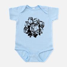 Skull Roses Infant Bodysuit