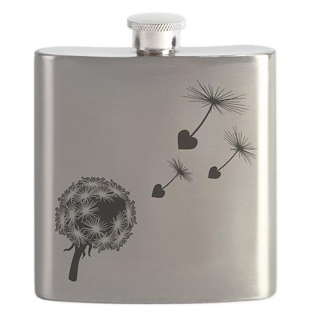 Dandelion Heart Seeds Flask