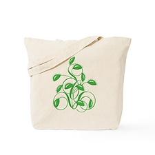 Stylized Carnivorous Plant Tote Bag