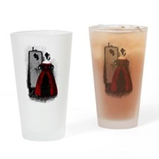 Fashion Plate Revamped Drinking Glass