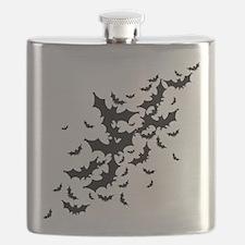 Lots Of Bats Flask