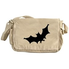 Bat Silhouette Messenger Bag