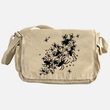 Lots Of Spiders Messenger Bag