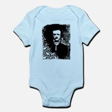 Poe On Raven Pattern Infant Bodysuit