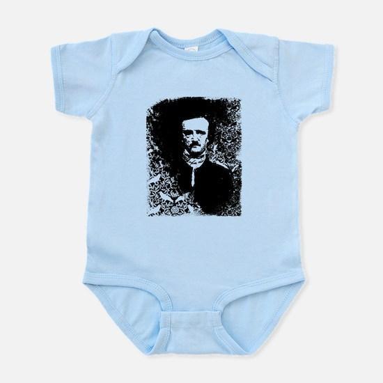 Poe On Raven Pattern Infant Bodysuit