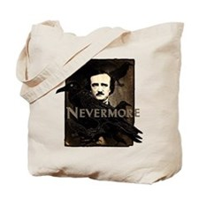 Poe Raven Nevermore Tote Bag