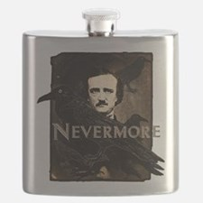 Poe Raven Nevermore Flask