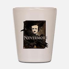 Poe Raven Nevermore Shot Glass