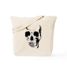 Skull Face Tote Bag