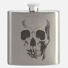 Skull Face Flask