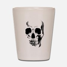Skull Face Shot Glass
