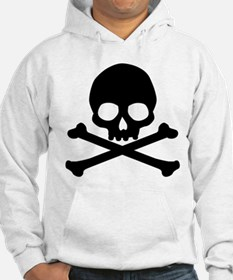 Simple Skull And Crossbones Jumper Hoody