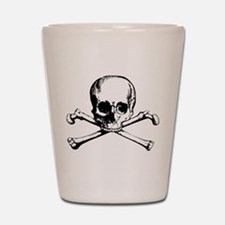Classic Skull And Crossbones Shot Glass