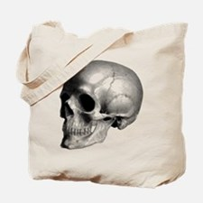 Skull Illustration Tote Bag