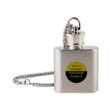 Factory Farming -Google it! Flask Necklace