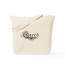 7 Sins Greed Tote Bag