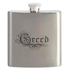 7 Sins Greed Flask