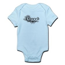 7 Sins Greed Infant Bodysuit
