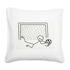 Nice Save! Square Canvas Pillow