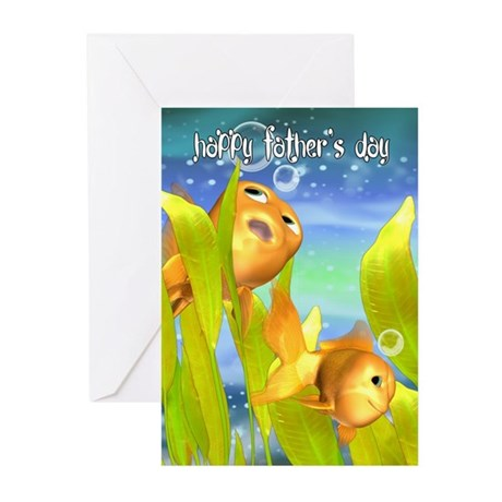 Goldfish Father's Day Greeting Cards (Pk of 20)