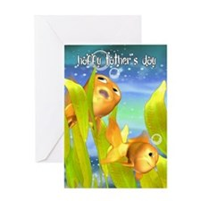 Goldfish Father's Day Greeting Cards