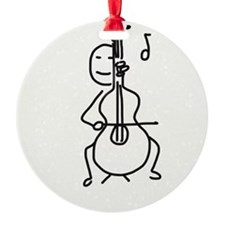 Palo Plays the Cello Ornament