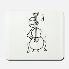 Palo Plays the Cello Mousepad