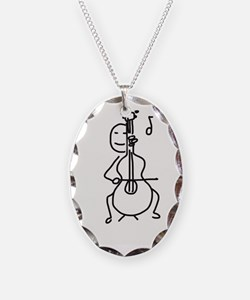 Palo Plays the Cello Necklace