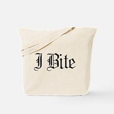 Text I Bite Tote Bag