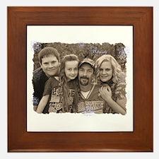 Custom photo Framed Tile