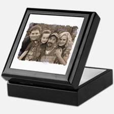 Custom photo Keepsake Box
