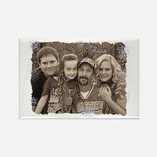 Custom photo Rectangle Magnet