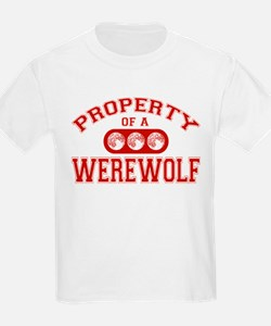 Property Of A Werewolf T-Shirt