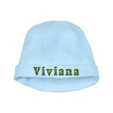 Viviana Floral baby hat
