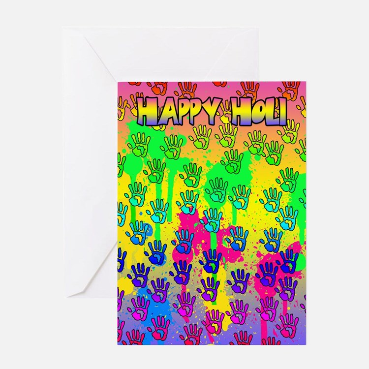 Holi Greeting Card Happy Holi Holi