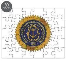 Rhode Island State Seal Puzzle