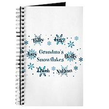 Custom kids snowflakes Journal