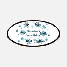 Custom kids snowflakes Patches