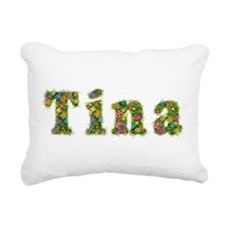 Tina Floral Rectangular Canvas Pillow