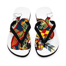 Kabuki Flip Flops