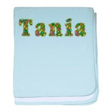 Tania Floral baby blanket