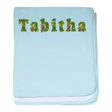 Tabitha Floral baby blanket