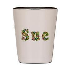Sue Floral Shot Glass